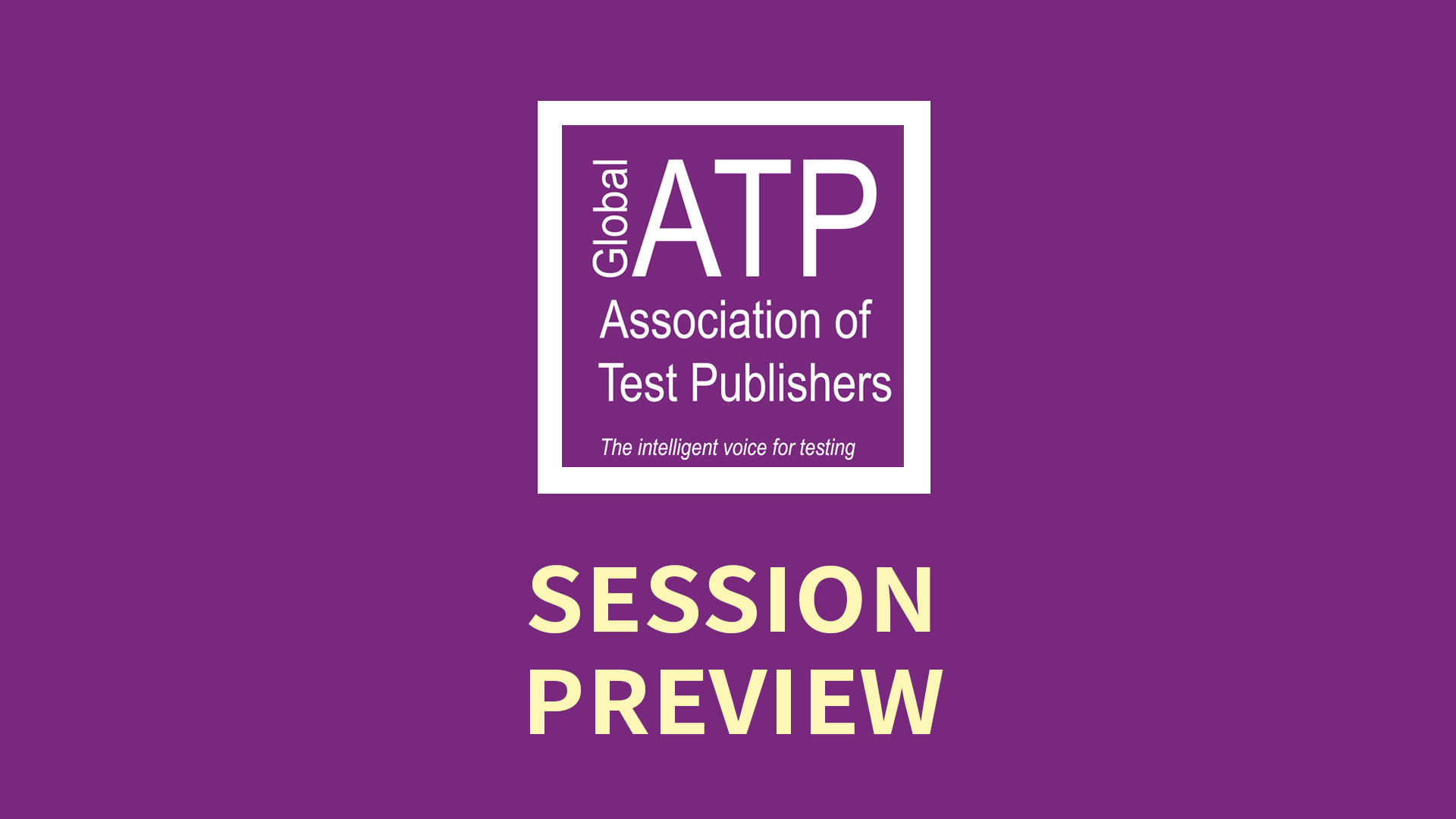 Global ATP Conference Session Preview