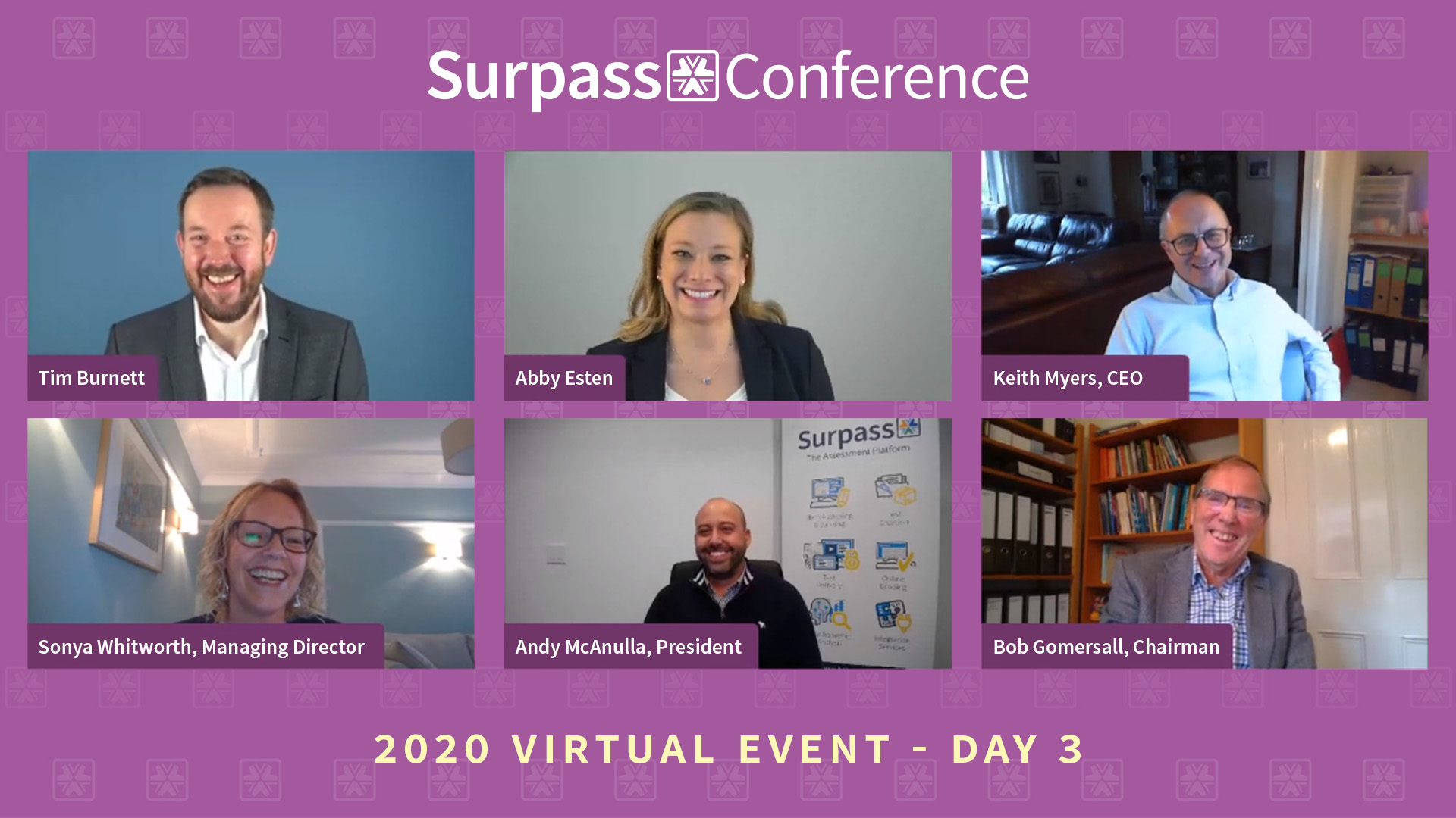 Surpass Conference 2020 Virtual Event - Day 3