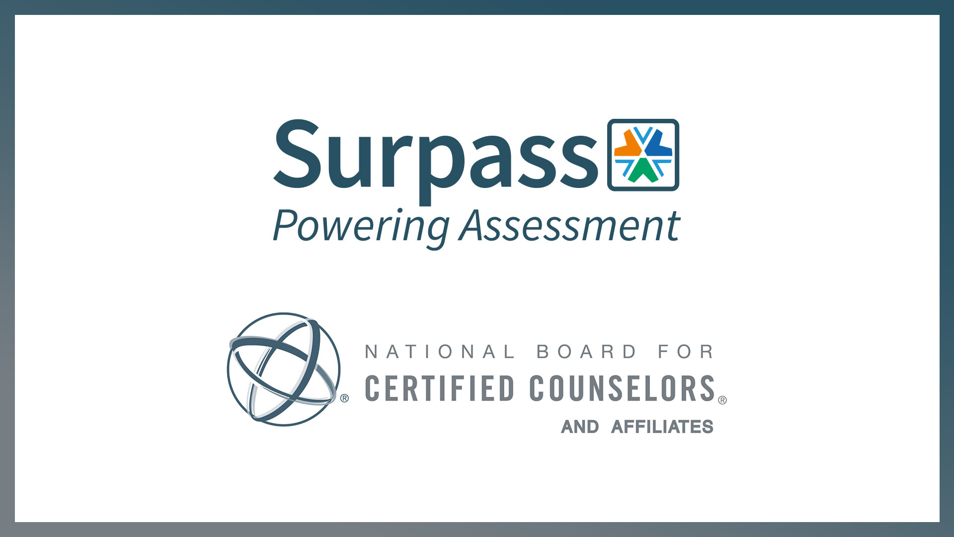 New community member: National Board for Certified Counselors