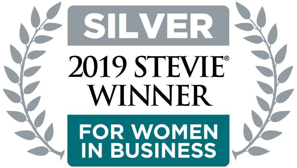 Silver 2019 Stevie Award Winner for Women in Business