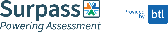 Surpass, Powering Assessment is provided by BTL